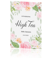 High Tea uitnodiging