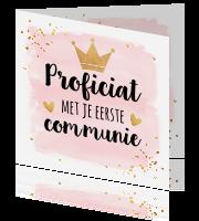 Felicitatie Communie En Vormsel