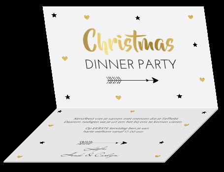 Bekend Kerstdiner uitnodiging @AF18
