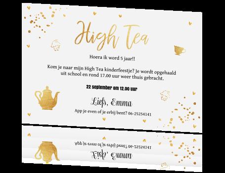 Betere High Tea uitnodiging foto PA-11