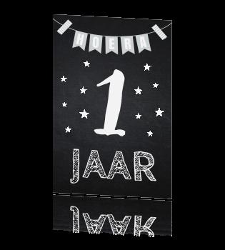 Populair Mijlpaalkaart eerste verjaardag &KJ33