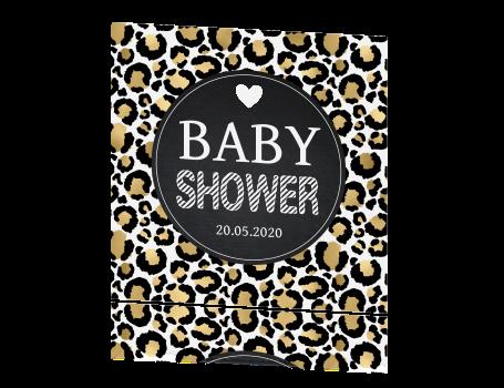 home overige kaarten babyshower babyshowerkaart met stippen