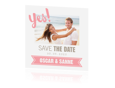 Typografie Save the Date